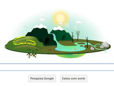 Dia da Terra 2013 ganhou homenagem do Google