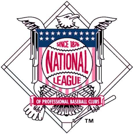 Logo de la National League of Professional Base Ball Clubs, la hoy conocida como Liga Nacional