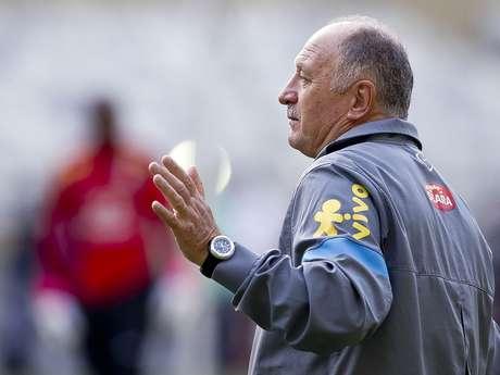 <p>Scolari prepara a lista final para Copa das Confedera&ccedil;&otilde;es</p>