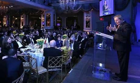 Lula foi homenageado durante jantar em Nova York