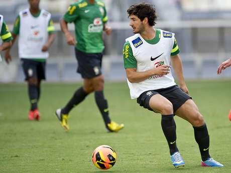 <p>Alexandre Pato corre por fora na briga pela camisa 9 da Sele&ccedil;&atilde;o</p>