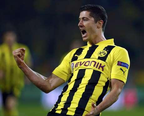 <p>Lewandowski seria outro refor&ccedil;ar o arquirrival do Borussia Dortmund na pr&oacute;xima temporada</p>