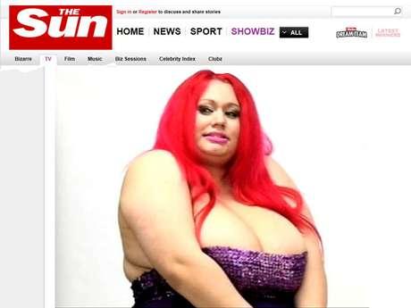 <p>Ela contou que aos 16 anosrecebeu a sugestão de fazer redução das mamas</p>