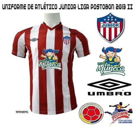 Esta sería la nueva camiseta de Junior de Barranquilla