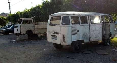 <p>Veículos deteriorados estão abandonados desde janeiro na ruaPuxinanã, no bairro Vila Rica, na zona norte de São Paulo</p>