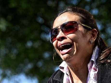 Prima da vítima se desespera ao falar da dentista Cinthya Magaly Moutinho de Souza