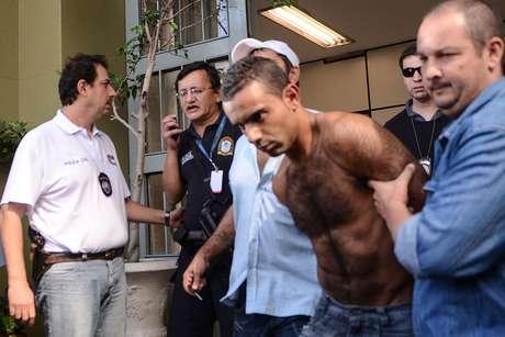 As cinco pessoas foram detidas nas imediações da favela São Jorge, em Diadema
