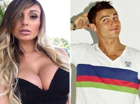 Cristiano Ronaldo e Andressa Urach teriam um affair