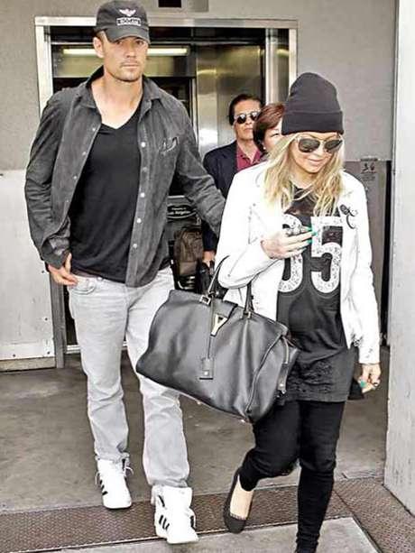 <p>Fergie y Josh Duhamel ya platican de la forma en la que educarán a su hijo.</p>