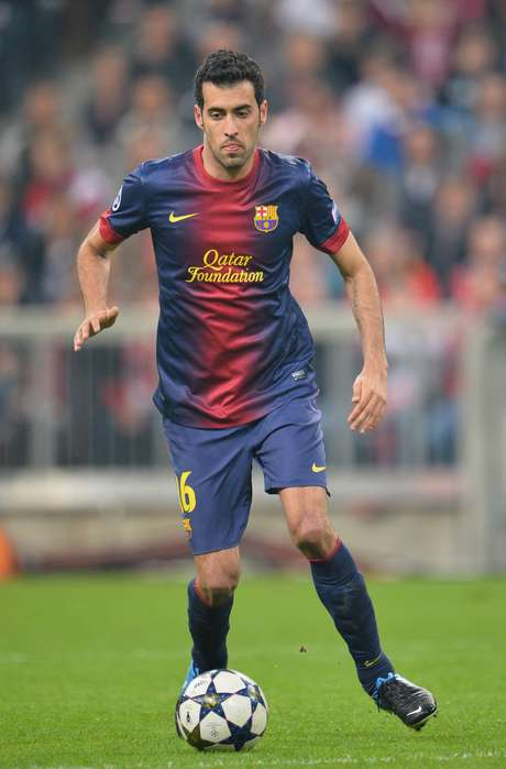 <p>Sergio Busquets will miss the second leg against Bayern Munich because of injury</p>