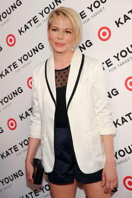 """""""É o primeiro trabalho que faço especialmente para a minha filha"""", disse a atriz, mãe de Mathilde, fruto do relacionamento com o ator Heath Ledger"""