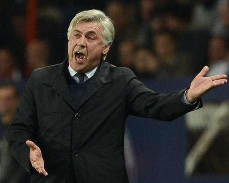 El técnico italiano Carlo Ancelotti