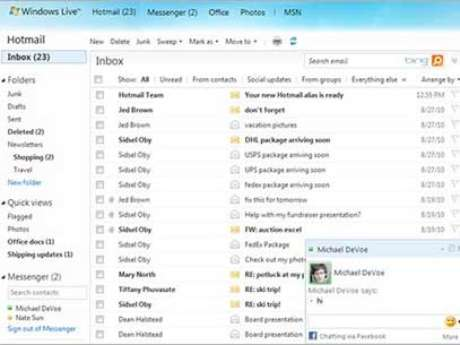 Antigo Hotmail foi substuído...
