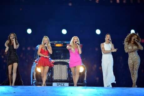 <p>Las Spice Girls actuaron en la clausura de los Juegos Olímpicos de Londres 2012.</p>