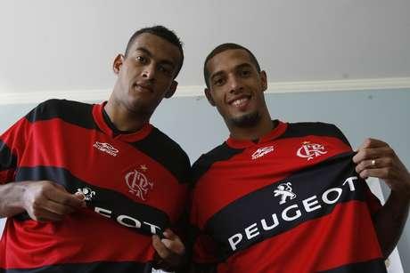 <p>Paulinho e Diego Silva apresentaram suas características</p>