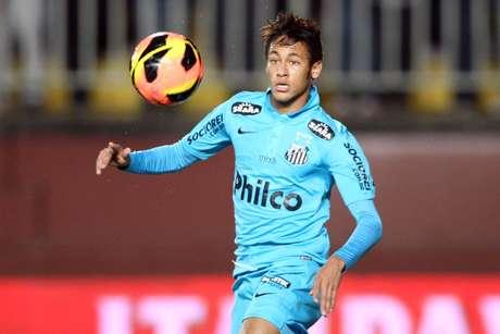 <p>Neymar tem contrato com o Santos válido até 2014</p>