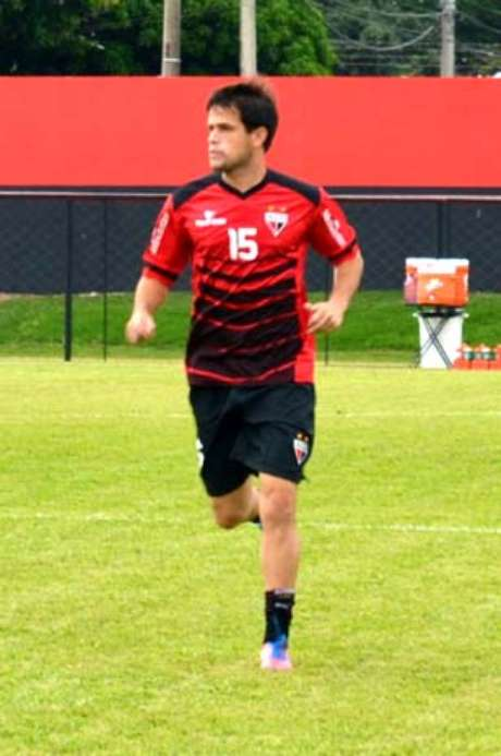 <p>Pipico chegou ao Atlético-GO nesta temporada</p>