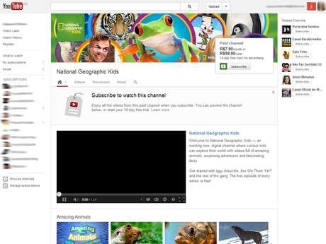 YouTube lança canais pagos no Brasil e mais nove países