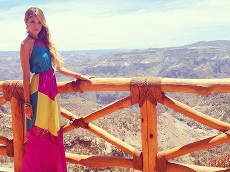 <p>Eiza González compartió fotos de las locaciones donde se grabaron las escenas finales de 'Amores Verdaderos'.</p>