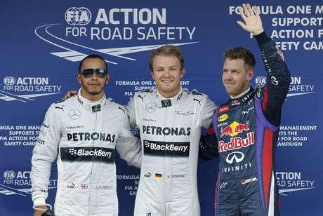 <p>Hamilton largará em segundo no GP da Espanha</p>