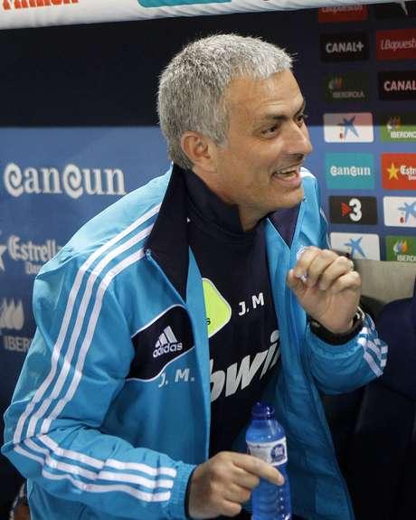 <p>Mourinho levou o Real Madrid mais longe na Liga dos Campe&otilde;es, mas n&atilde;o chegou a disputar o t&iacute;tulo</p>