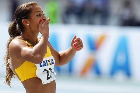 <p>Ana Claudia Lemos bateu recorde nesse domingo</p>