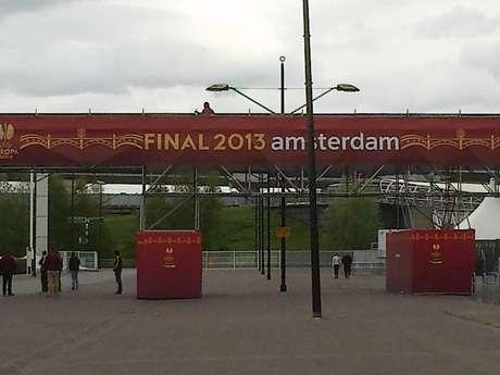 Com ingressos esgotados há uma semana, Amsterdam Arena não tem movimentação de torcedores