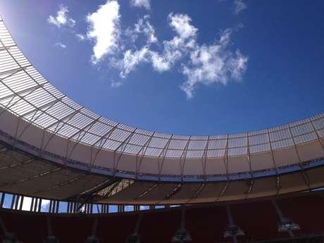 <p>Primeiro jogo do Estádio Nacional Mané Garrincha será Brasiliense x Brasília</p>