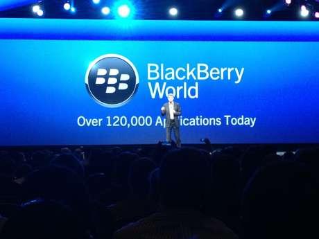 Conferência em Orlando, nos Estados Unidos, apresenta as novidades da BlackBerry