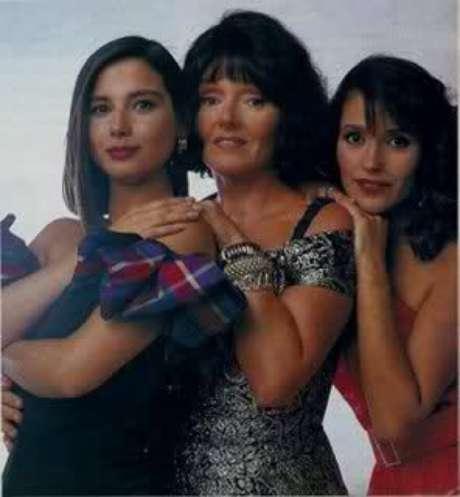 Las protagonistas de la telenovela de Canal 13 del primer semestre de 1993.