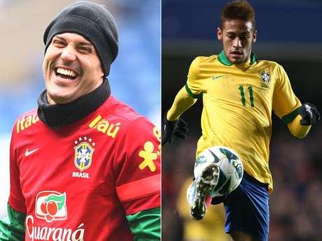 <p>Nesta terça-feira, o técnico Luiz Felipe Scolari divulgou a lista de 23 nomes que defenderão a Seleção Brasileira. Nomes certos, como o goleiro Júlio César e o atacante Neymar (foto), foram confirmados. Em compensação, Ronaldinho, Kaká e Alexandre Pato acabaram preteridos pelo treinador. Confira a lista:</p>