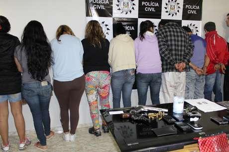 Operação Matrix da Polícia Civil prendeu 12 pessoas nesta terça-feira em Gravataí, Cachoeirinha e Porto Alegre