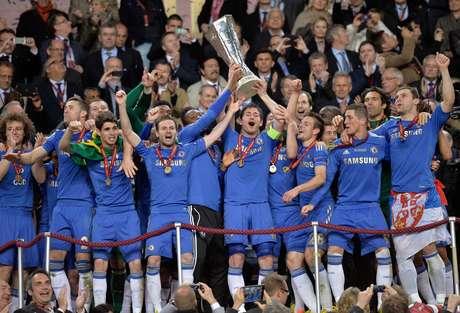 <p>Chelsea venceu a última edição da Liga Europa</p>