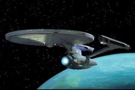 Nave Enterprise é o símbolo da saga Jornada nas Estrelas