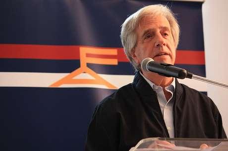 <p>O ex-presidente uruguaio Tabaré Vázquez é o mais cotado para representar o partido nas eleições do ano que vem</p>