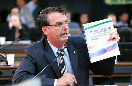 <p>Jair Bolsonaro é deputado federal pelo PP-RJ</p>