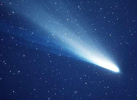 O cometa causou pânico em sua passagem em 1910