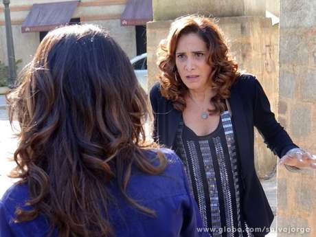 <p>Wanda e Morena se enfrentam no último capítulo</p>