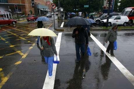 En la Región Metropolitana cayeron 11.4 mm de lluvia en promedio.