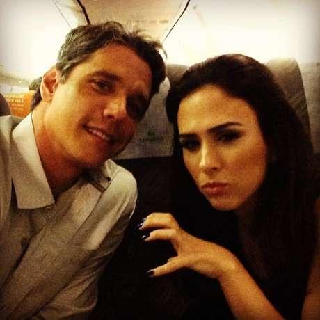 Márcio Garcia e Tatá Werneck estão no elenco de 'Amor à Vida'