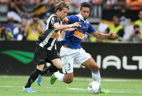 <p>Atl&eacute;tico-MG e Cruzeiro est&atilde;o com o mesmo patrocinador atualmente</p>