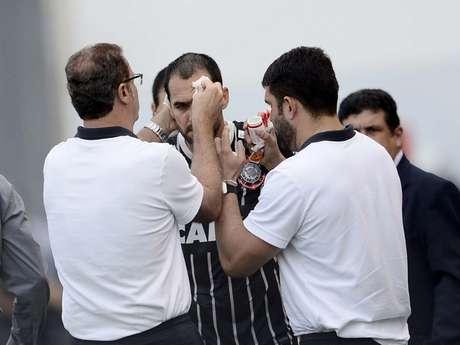 <p>Herói na Libertadores da 2011, meia decidiu mais uma vez pelo Corinthians</p>