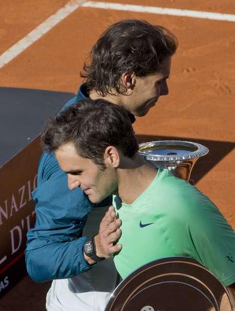<p>Federes e Nadal podem se encontrar antes da final do torneio</p>