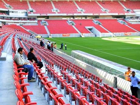 <p>Presidente participou da inauguração de todos os estádios da Copa das Confederações</p>