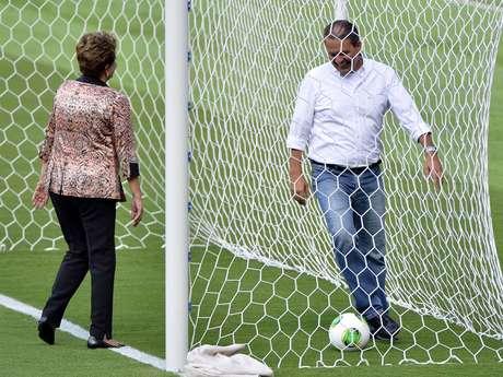 Dilma e Campos fizeram tabelinha que terminou em gol