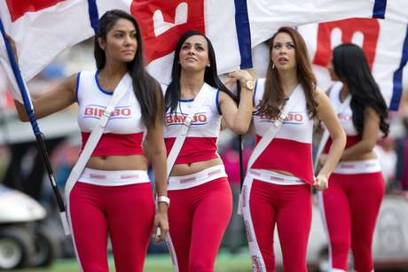 <p>Despite what their shirts say, these are classy ladies.</p>