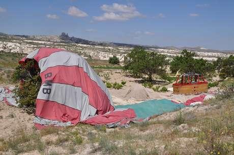 <p>Três turistas brasileiras morreram em acidente com balão na região da Capadócia, na Turquia</p>