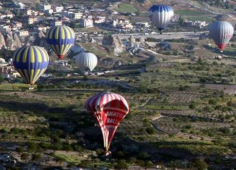 <p>O acidente com um balão matou três turistas brasileiras na Capadócia, na Turquia</p>