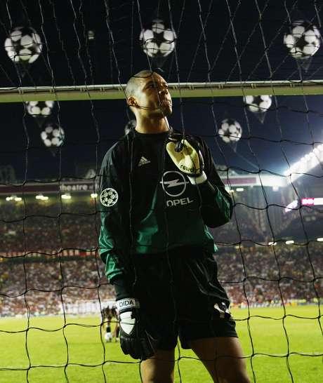 Dida teve papel fundamental na conquista do Milan em 2003