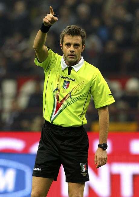 <p>Rizzoli ser&aacute; o &aacute;rbitro da decis&atilde;o alem&atilde; da Champions</p>